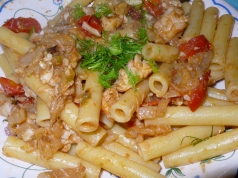 Ziti with Seafood-Fennel Sauce