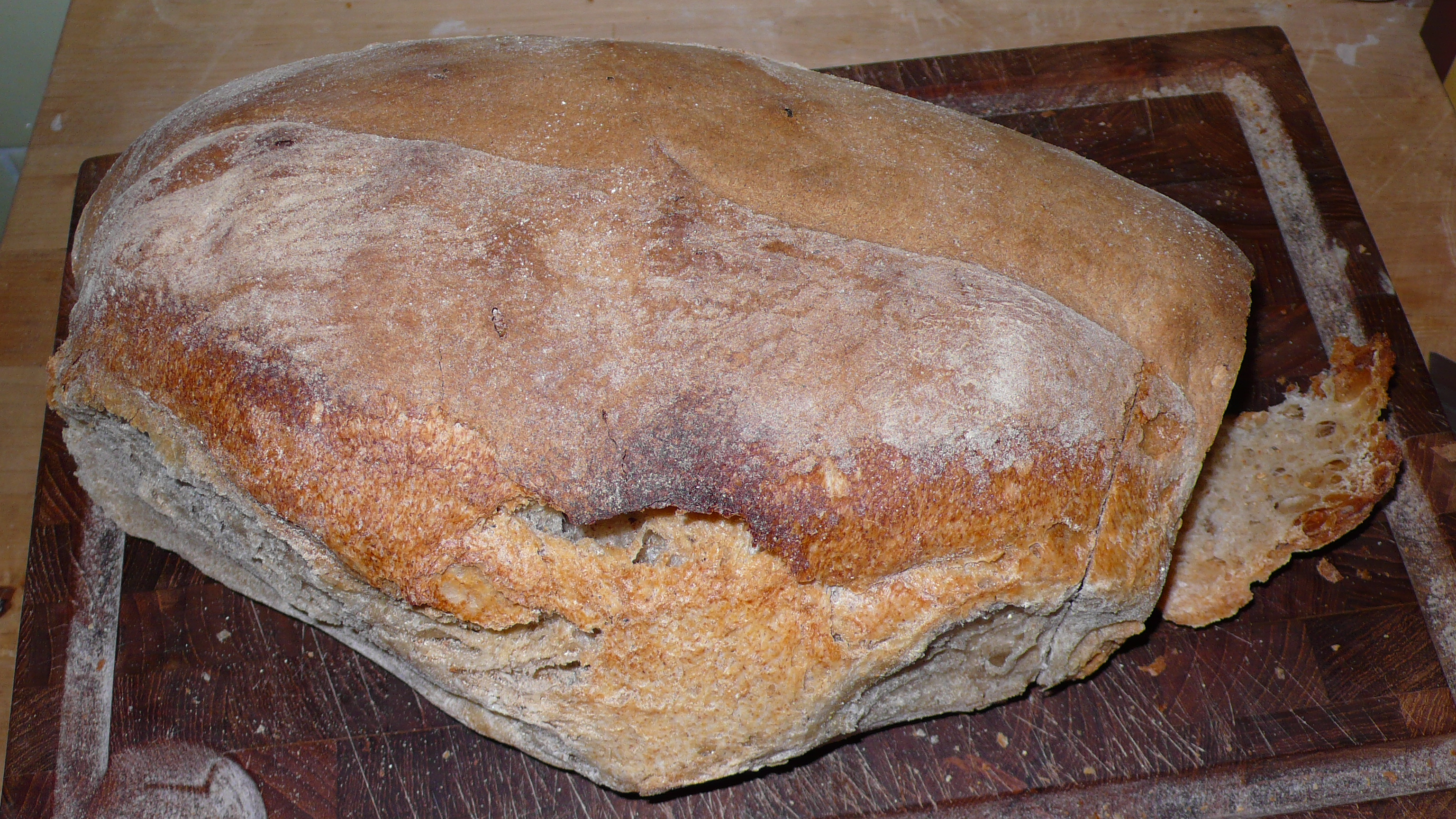 Pane Di Lariano Is A Whole Wheat Bread That Comes From Town South Of Rome