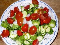 zucchini & pomodoro