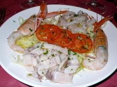 antipasto di pesce marinato