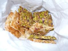 biscotti di mandorle e pistacchi