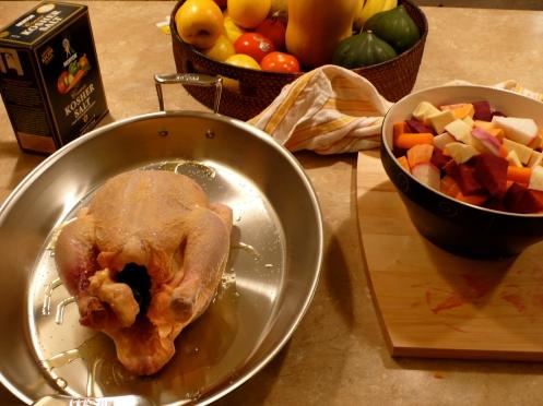 roasting chicken