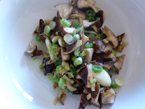 shitake mushroom mixture