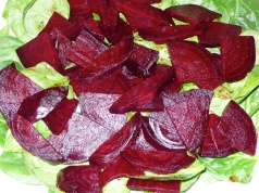 spinach & beets