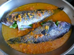 Baked Fish in Salsa di Agrumi