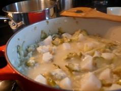 artichoke and scallop risotto