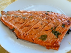 Grilled Sockeye Salmon Fillet