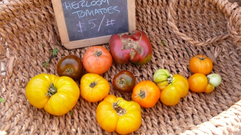 heirloom tomatoes