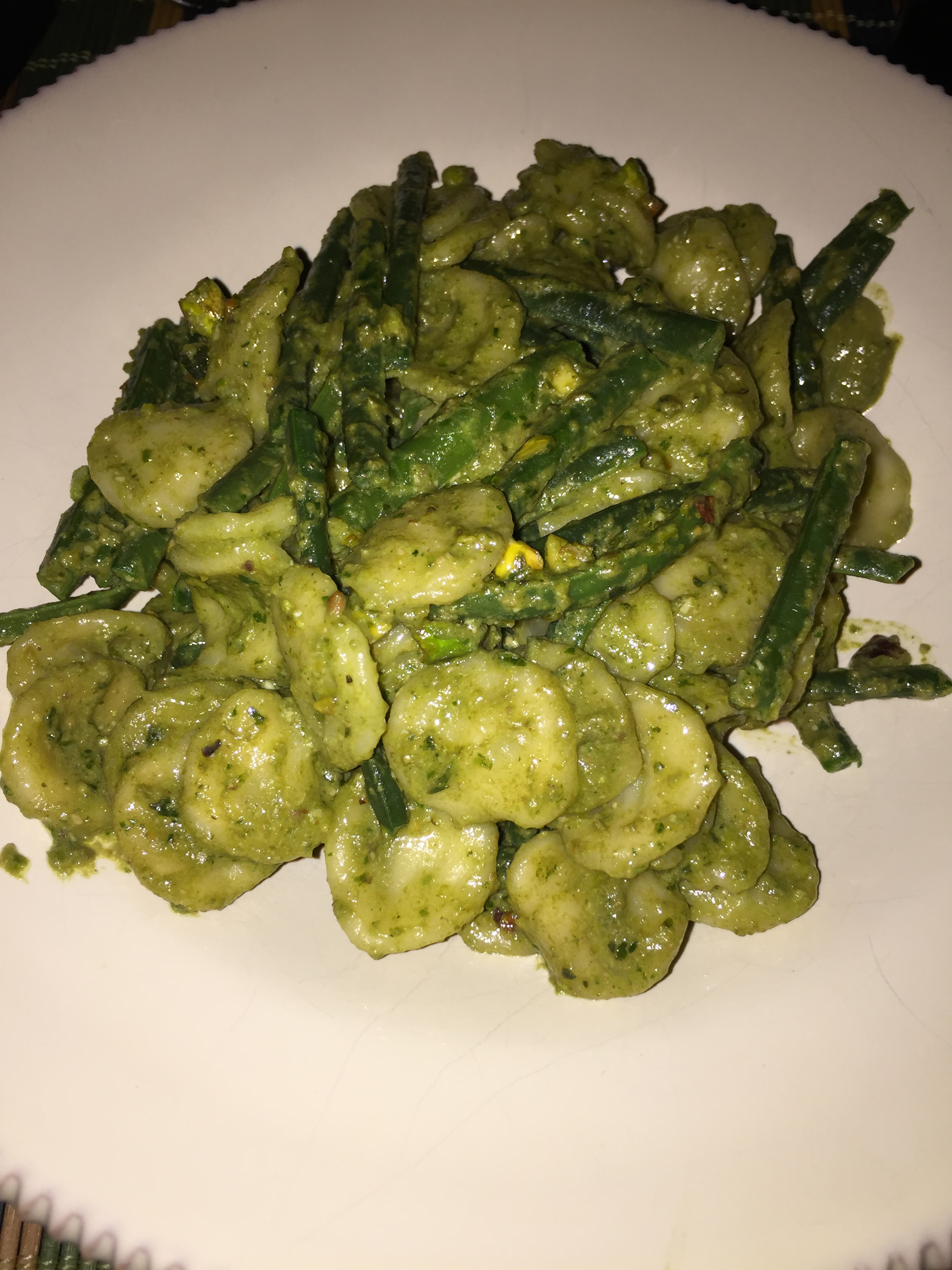 ... With Basil and Pistachio Pesto and Green Paesano Beans | Italicious
